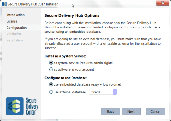 Secure Delivery Center Installation Guide